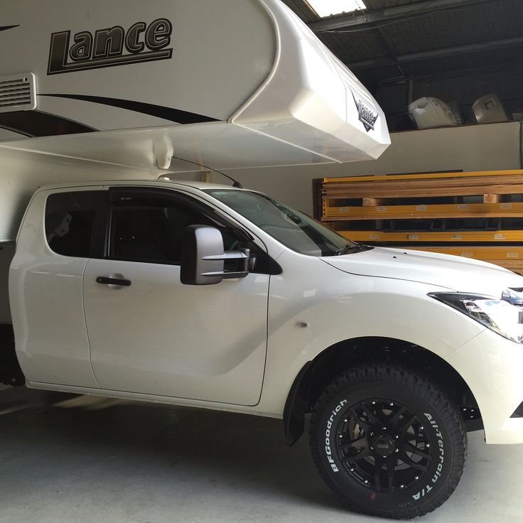 Mid prep for the Rosehill #supershow this beauty will be on display. Mazda bt50, Lance 650, storage boxes, suspension upgrade, towing capability.