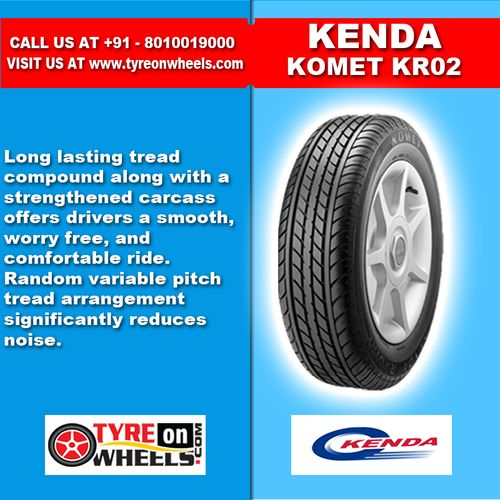 Buy Kenda Komet Tubeless Tyres Online for Size 185/65 R14 at Guaranteed Low Prices and also get Mobile Tyres Fitting Services at your home now buy at http://www.tyreonwheels.com/tyres/Kenda/KOMET-PLUS/1250