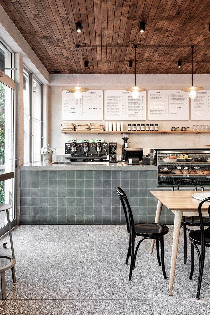High St Society von Ricci Bloch Architektur + Innenräume #cafe #interior #hospit … #WoodWorking