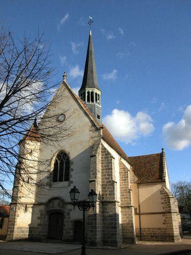 Clocher d'une église de France : 77249 - Lésigny