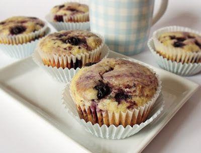 Citromhab: Áfonyás muffin