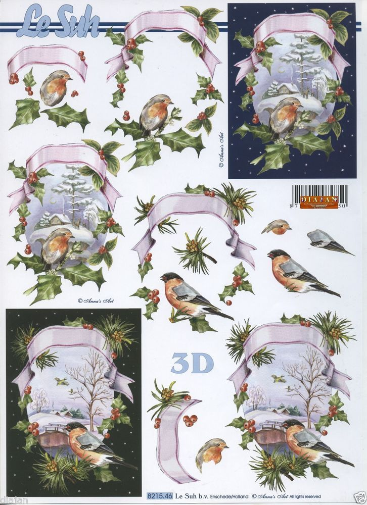 Exceptionnel 522 best 3d christmas sheets images on Pinterest | 3d cards, 3d  SS07