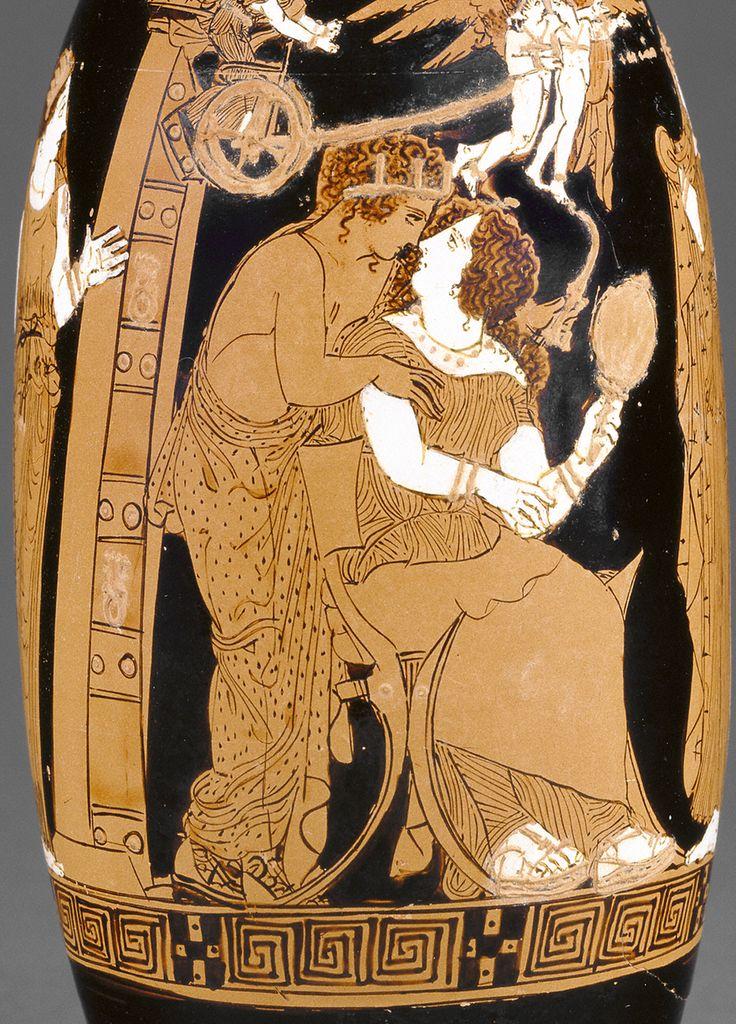 ancient greek paintings nude