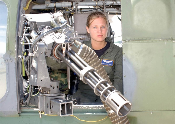 Airman Vanessa Dobos Is The First Female Aerial Gunner In