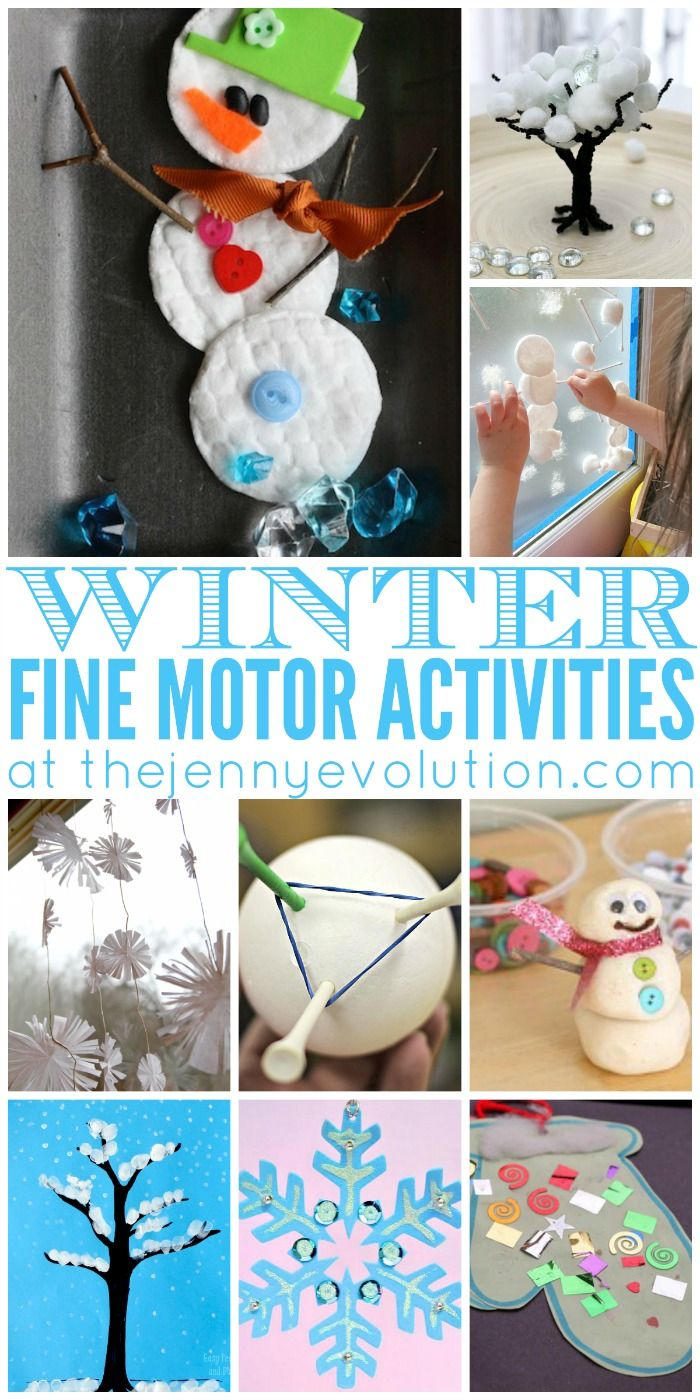 135 best winter fine motor activities images on pinterest for Small motor activities for infants