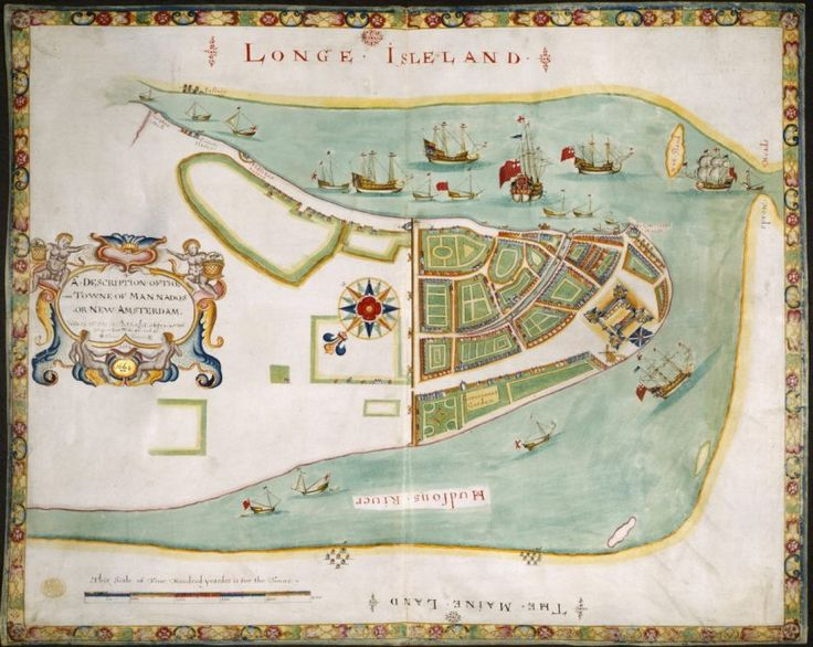 Nova York foi primeiro chamada de Nova Amsterdam, quando foi colonizada por holandeses no início do século 17. Em 1644, foi renomeada em honra do duque de York.