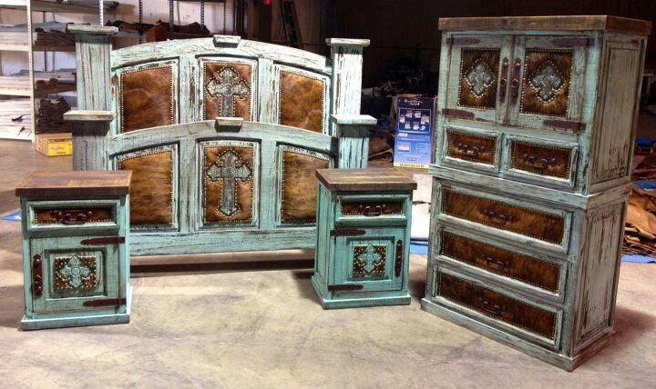 cowhide western furniture home decor pinterest