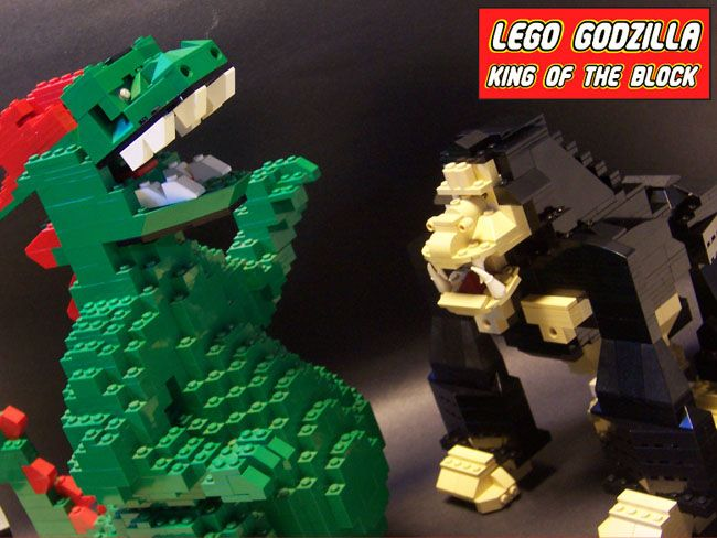 Lego Godzilla Video Game