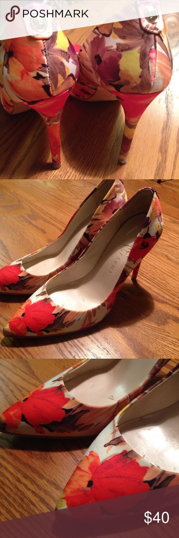 Ivanka trump adorable heels 7, good condition Worn a few times, comfortable, just a bit too high for me. Ivanka Trump Shoes Heels