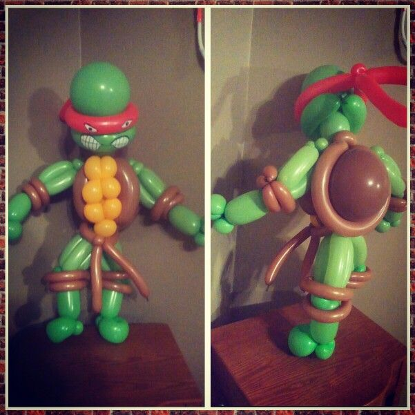 14 Best Images About Balloon Twisting: Ninja Turtles On