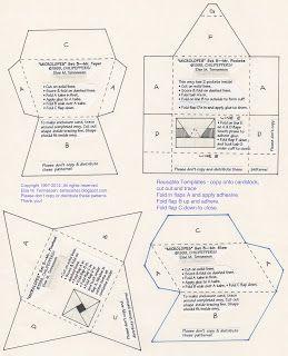 Else's Bellas Artes: FREE Mini Envelope Templates for You :) 5 different sets of mini envelopes