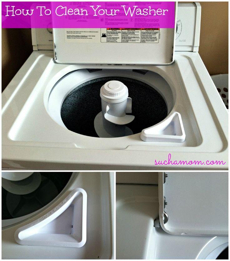 Die besten 25 saubere wasch essig ideen auf pinterest - Desinfecter machine a laver ...