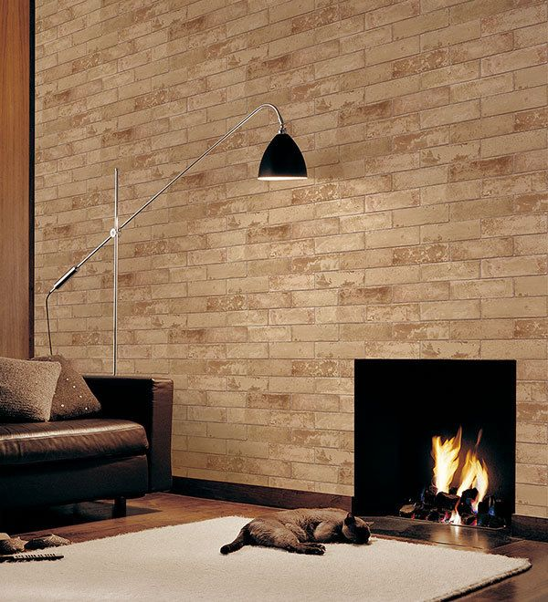 Wallpaper Inn Store - Dark Beige Brick, R699,95 (http://shop.wallpaperinn.co.za/dark-beige-brick/)