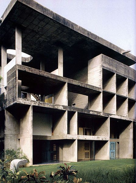 Villa Shodhan, Le Corbusier, 1956, India
