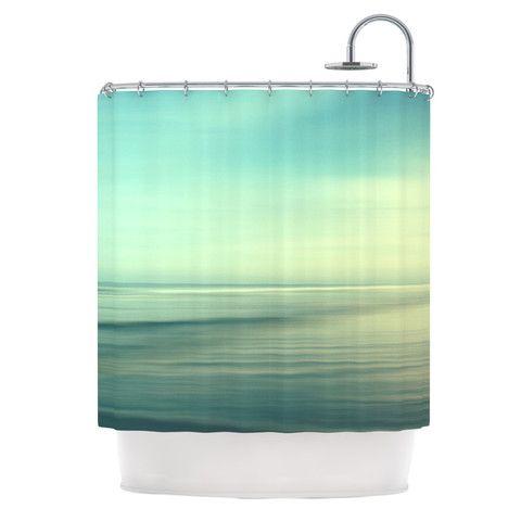 "Black Friday 40% 0ff!! Sylvia Cook ""Beach"" Shower Curtain | KESS InHouse"
