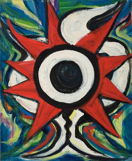 岡本太郎作品の「眼」で壁面を埋め尽くす、企画展『岡本太郎の目玉』