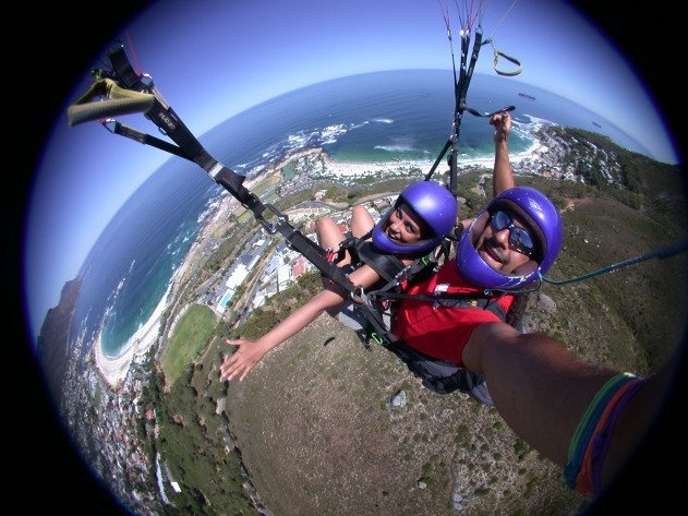 See the world from above!  Paragliding in Cape Town is one of the easiest and best ways for spectacular views.