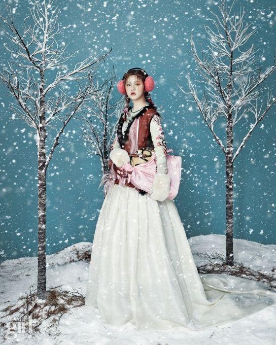 눈 오는 날 - Voguegirl.co.kr