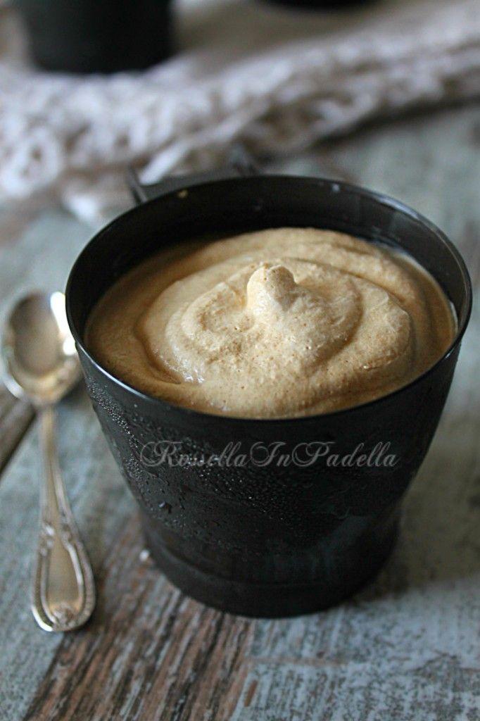 Coppa del nonno, gelato al caffè senza gelatiera