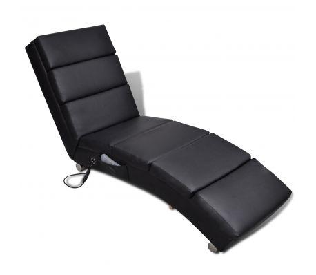 Massagestol svart 8-massagepunkter