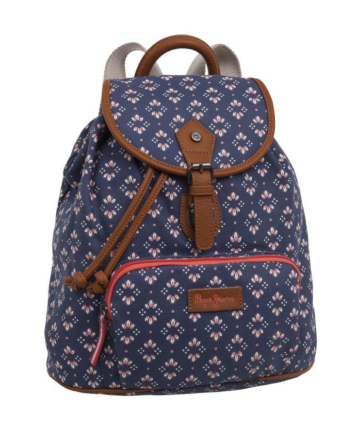 Mochila Pepe Jeans Iris #PepeJeans #JoummaBags #backpack #SS16