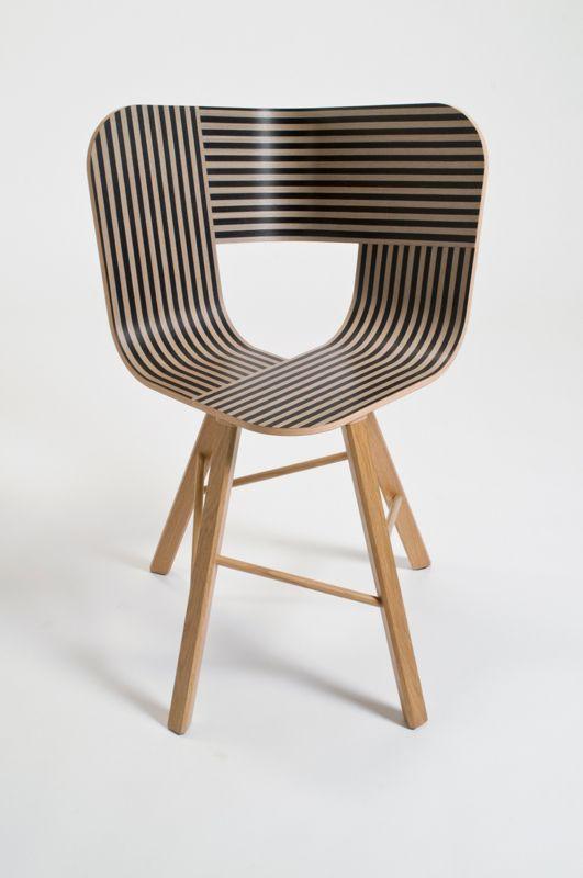 Tria Wood 4 chair by Colé Italian Design Label - design Lorenz/Kaz