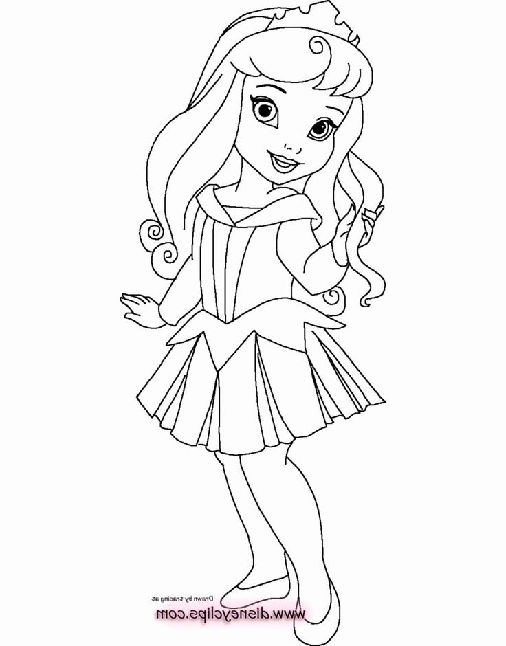 Disney Princesses Printable Coloring Pages Luxury Collection Baby Disney Princess In 2020 Disney Princess Coloring Pages Disney Princess Colors Mermaid Coloring Pages