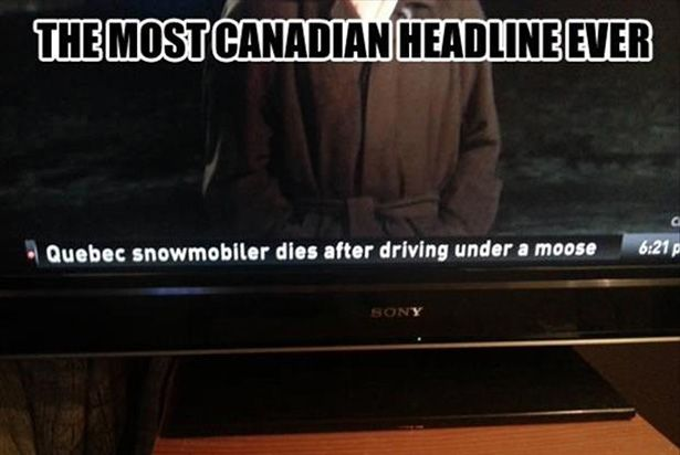 canadian headline