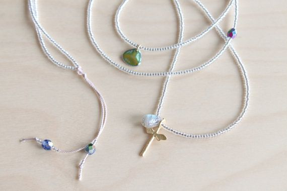 Labradorite necklace / dragonfly necklace / by HandsLoveJewelry