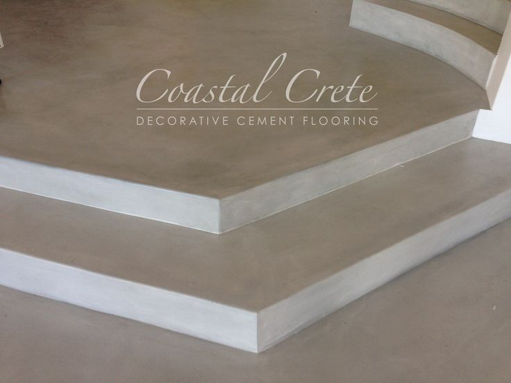 Coastal Crete Flooring | Bone Colour Screed Flooring | Smooth | Seamless