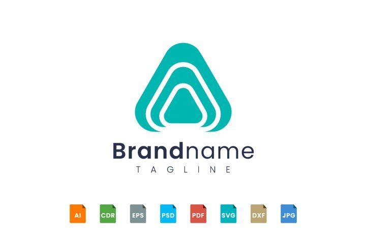 Triangle With Rounded Corners 936159 Logos Design Bundles Logo Design Logo Templates Branding Design Logo