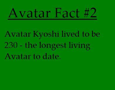 Avatar fact