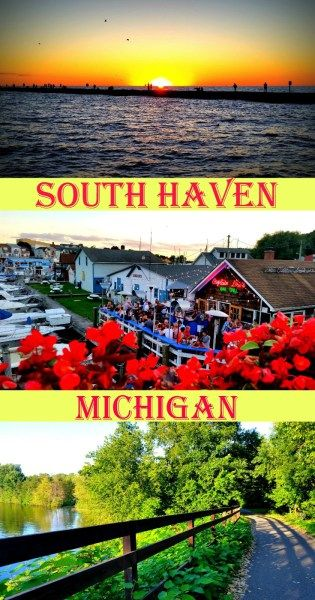Looking for a relaxing trip filled with magical sunsets and soft sandy beaches? We have traveled up and down the southwest Michigan coastline and South Haven is our favorite beach town!