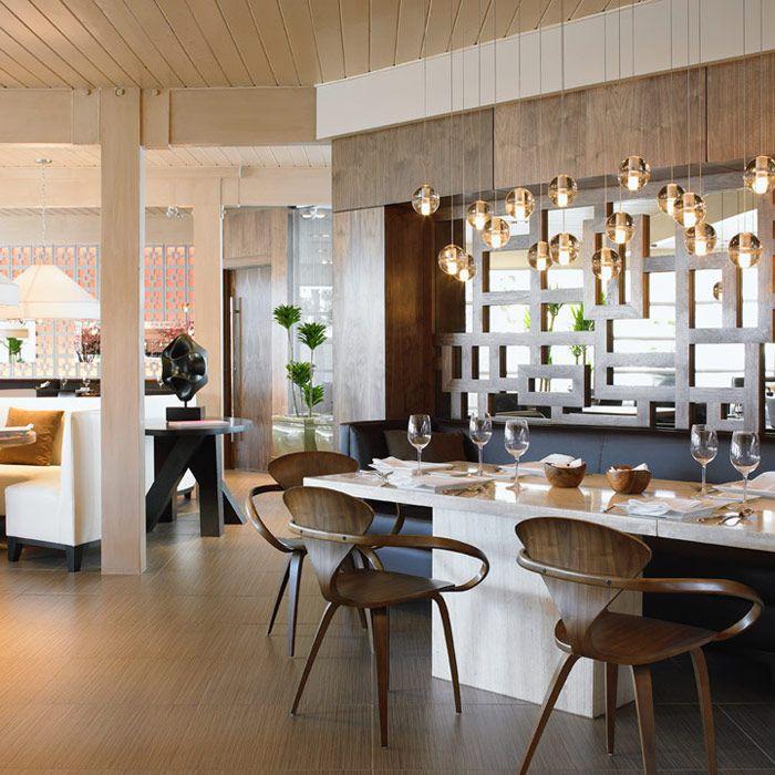 Alloy Restaurant, Calgary, Canada. Restaurant interior design by Mckinley Burkart.