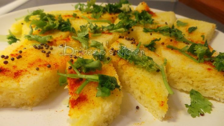 Effervescence: Instant Rice Flour Dhokla (3-minute recipe)