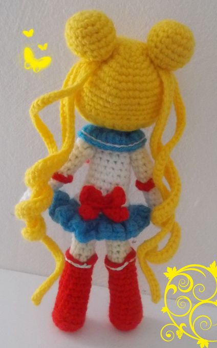 Sailor Moon Amigurumi                                                       …