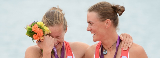 CONGRATULATIONS to Helen Glover and Heather Stanning for their gold medal in Women's Pair Rowing!