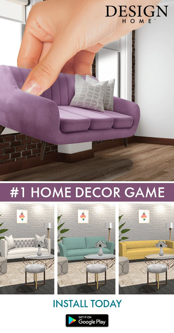Love home decorating? Play Design Home! If you daydream about designing beautiful, unique interiors for your many fantastic homes, you can now bring your design dreams to life in this visually stunning 3D experience. Join millions of design and home decor lovers to discover, shop items you love, style gorgeous rooms and get recognized for your creativity!_