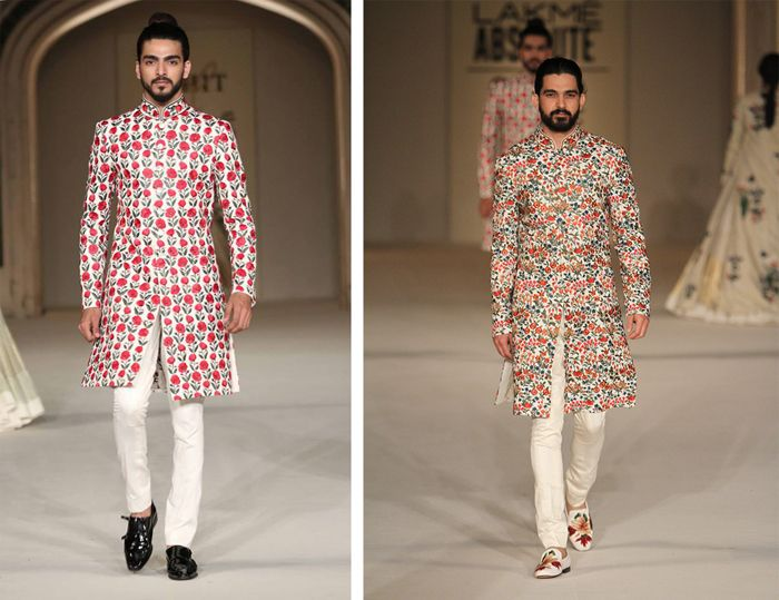 There's more to wedding wear than a textured ivory sherwani. All thanks to Rohit Bal.