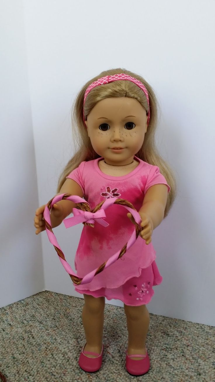 121 best images about american girl doll valentine on for Easy american girl doll crafts