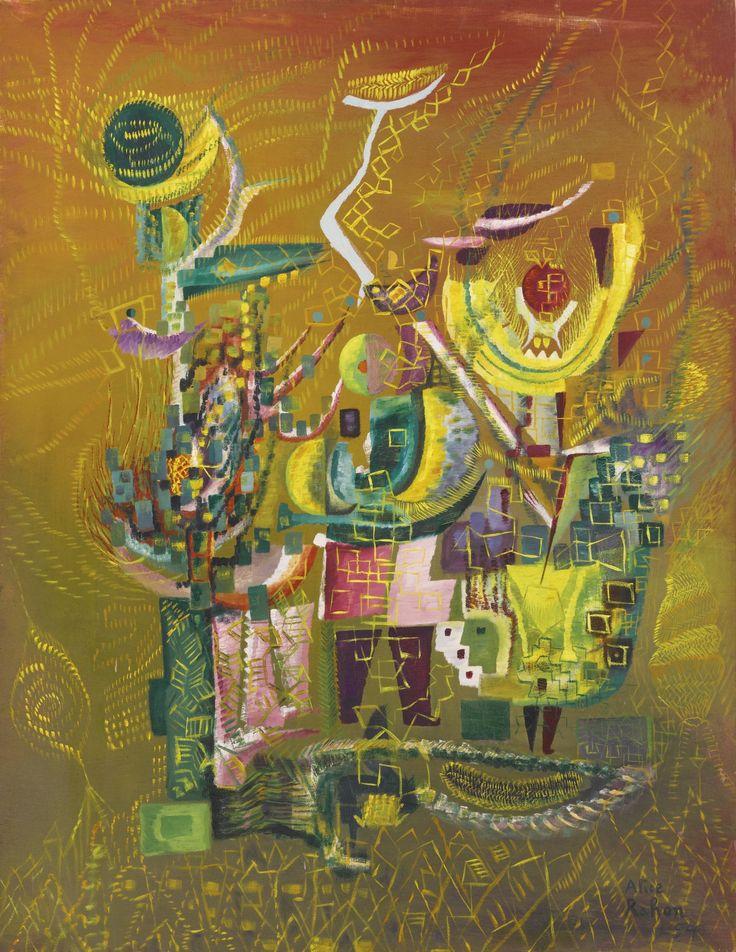 Rahon, Alice Le Ble (maíz F | Flores y plantas |  nombre el festival del maiz alice Rahon 1916-1987 sot