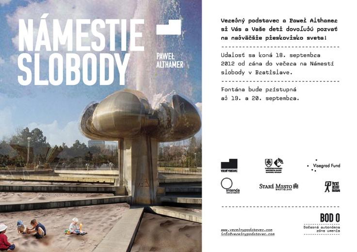 BOD 0 / Paweł Althamer / Námestie slobody