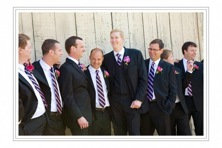If I were to choose what the boys are to wear...these ties would be it. perfection.: Vineyard Wedding