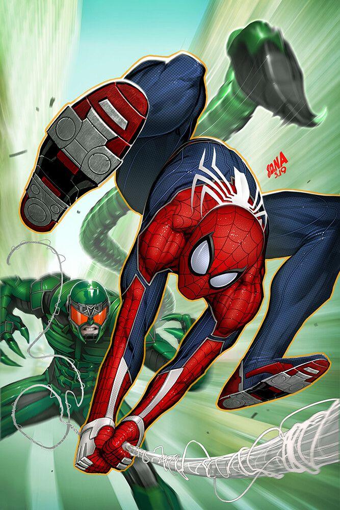 SpiderMan Ps4 vs. Scorpion marvel spiderman scorpion