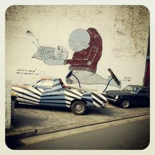 #Redfern street art