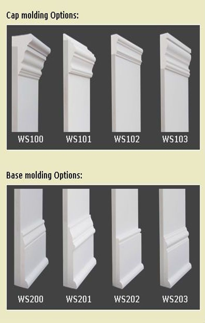20 baseboards styles ideas for your home baseboard for Mid century modern interior window trim