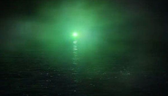 The Green Light ... symbolizes his future with Daisy. Gatsby can see her, he just can't seem to reach her nomatter what he does.