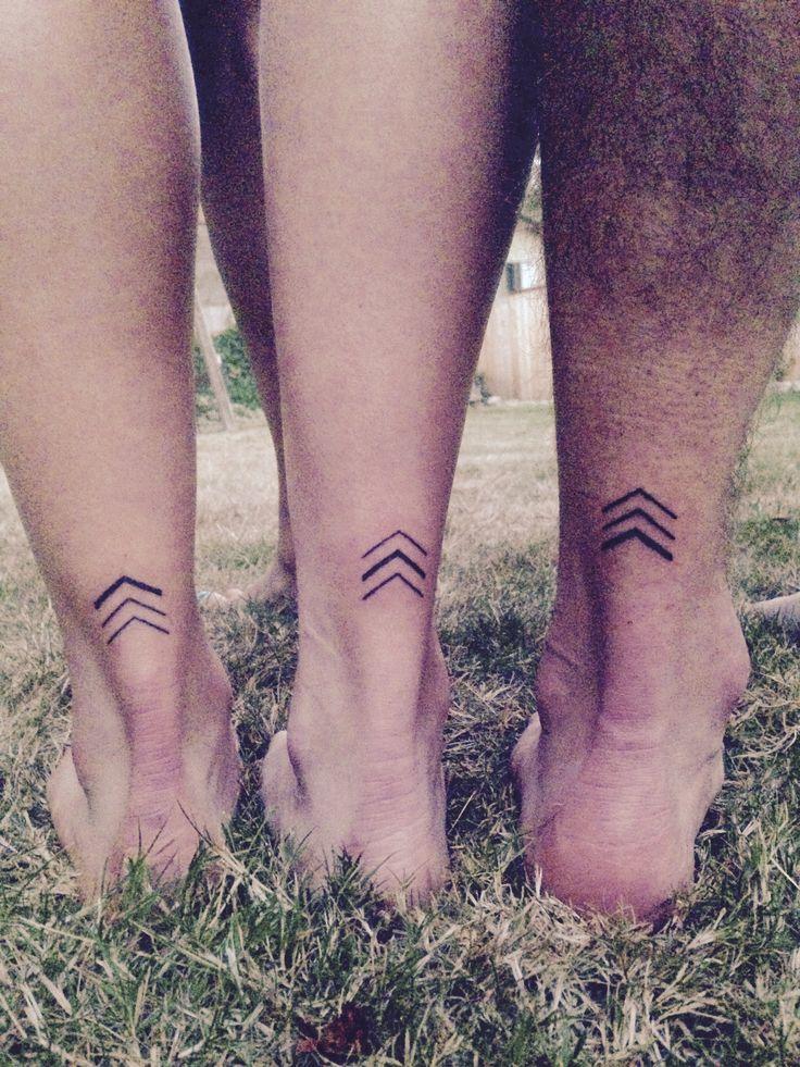 Geschwister Tattoo Pfeile
