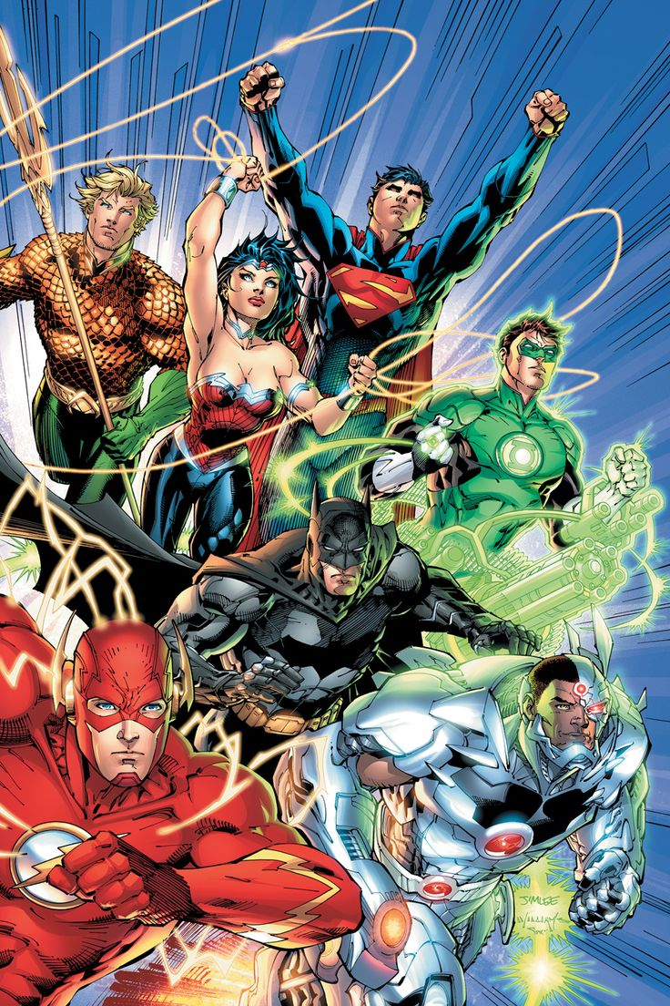 New 52 Justice League #1