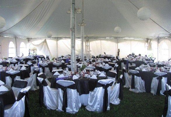 Outdoor Tent at Stanley Bridge Resort